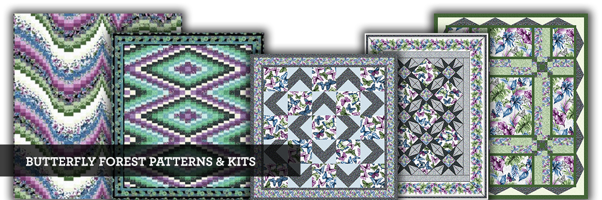 Butterfly Forest Patterns & Kits