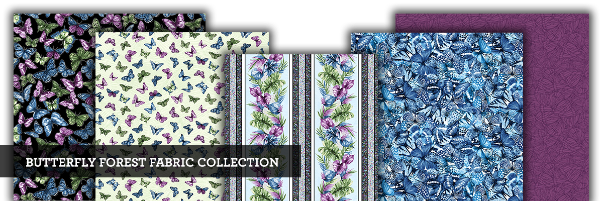Butterfly Forest Fabric Collection