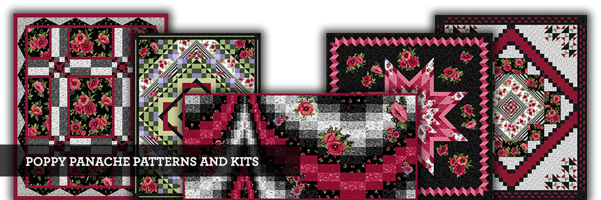 Poppy Panache Patterns & Kits
