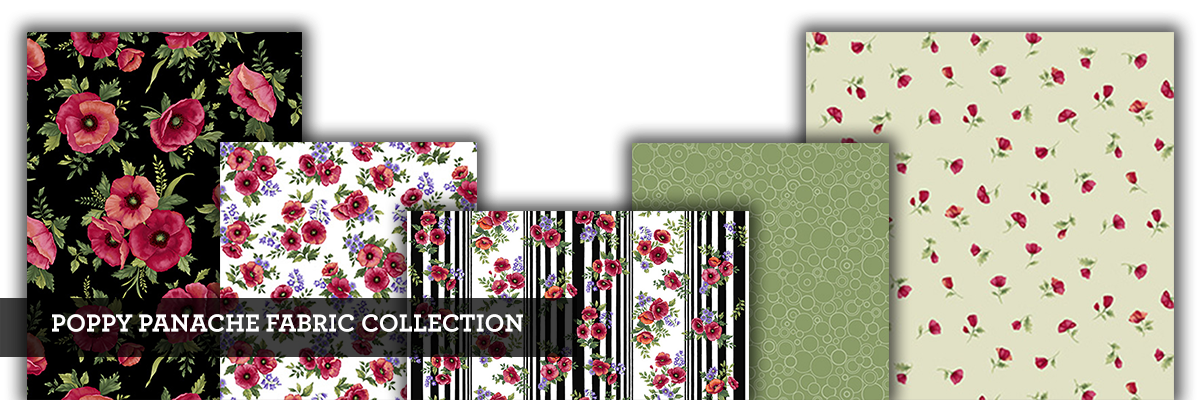 Poppy Panache Fabric Collections