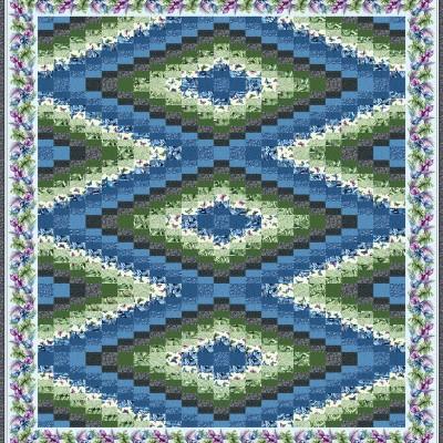 zuni blue green Queen