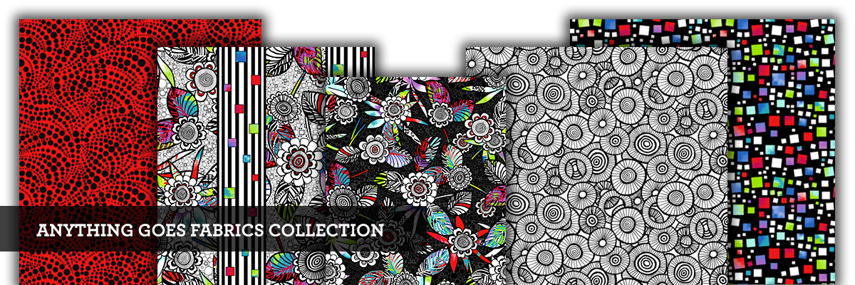 anything goes fabric collection