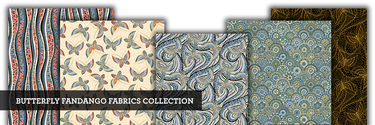 Butterfly Fandango Fabric Collection