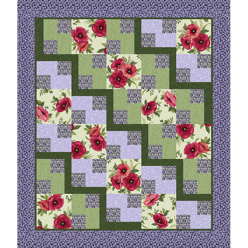 Steppin Out Pattern | Grizzly Gulch Gallery | Quilt Fabric ... Steppin Out