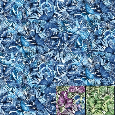 Butterfly Collage Packed Butterflies