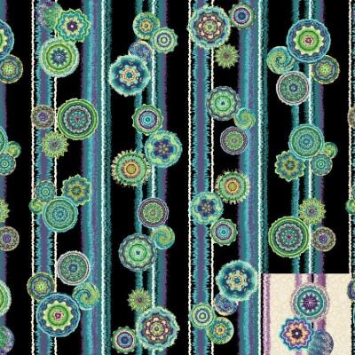 Circle Play Stripe Fabric