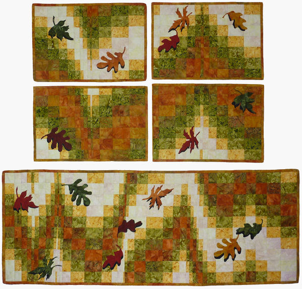 Set for Season Quilt Patterns and Quilt Kits