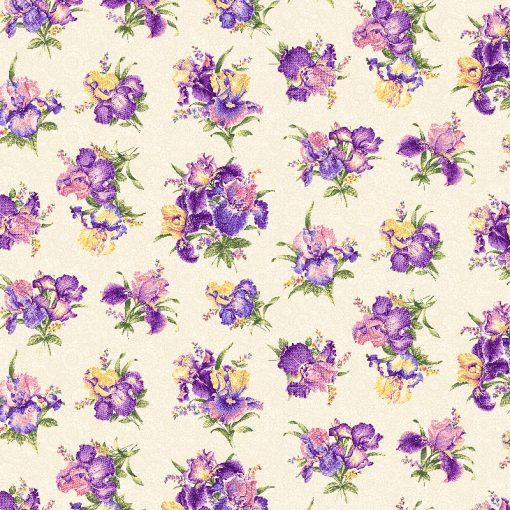 Iris Quilt Fabric