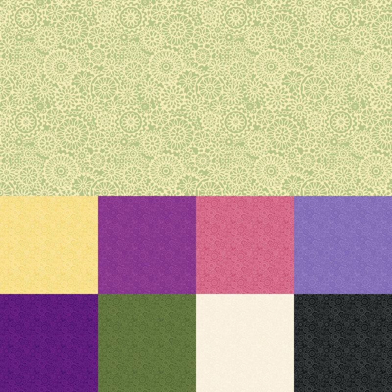 Medallion Quilt Fabric