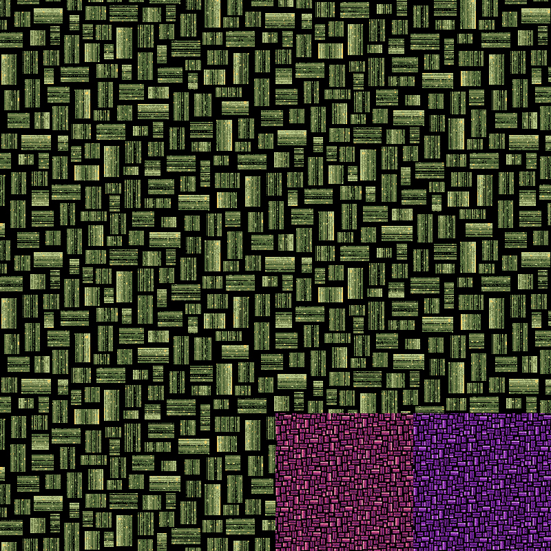 Rectangle Quilt Fabric