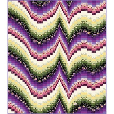 Morning Melody Quilt Patterns and Quilt Kits