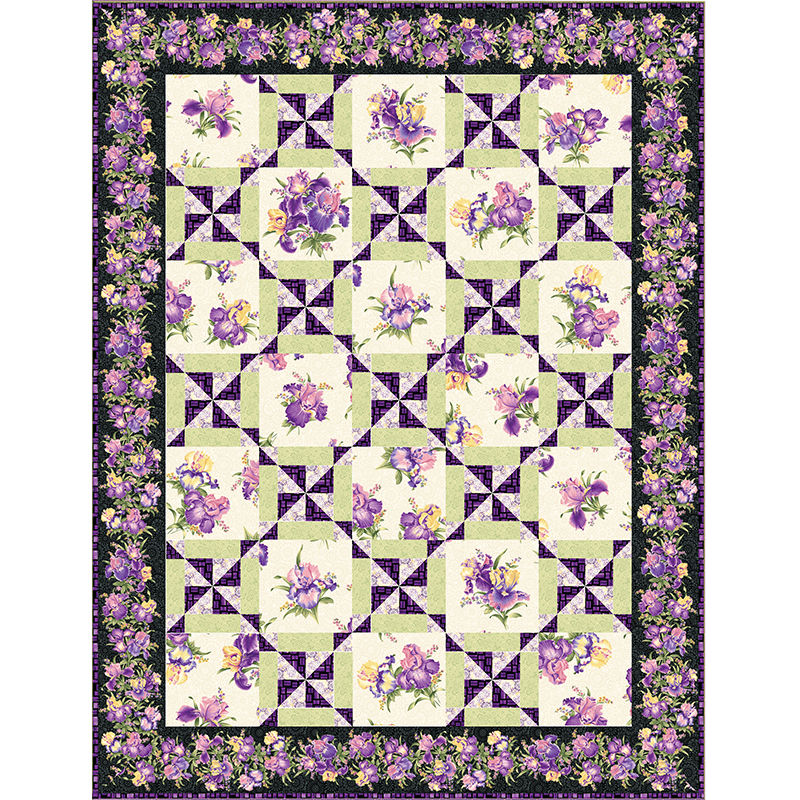 PinWheel Party Quilt Patterns and Quilt Kits