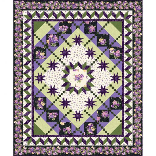 Spring Fling BOM Quilt Patterns and Quilt Kits