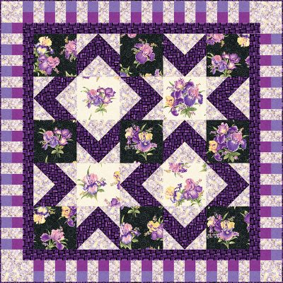 Stardom Queen Quilt Patterns and Quilt Kits