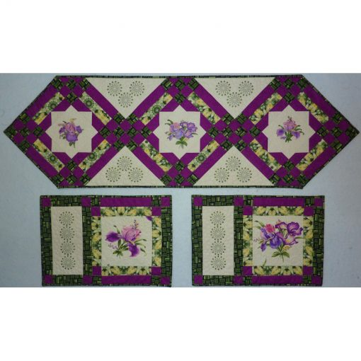Floral Fusion Quilt Pattern and Quilt Kit