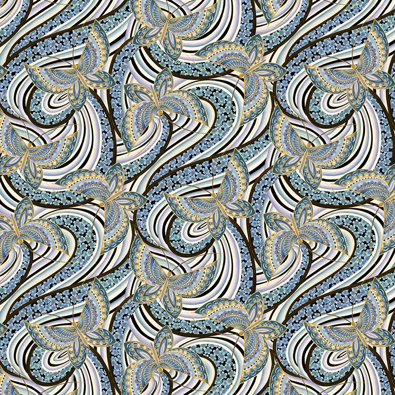 Fandango Butterfly Quilt Fabric