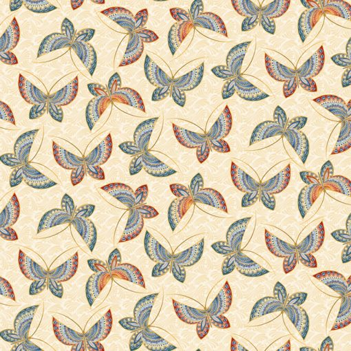Butterfly Fancy Quilt Fabric