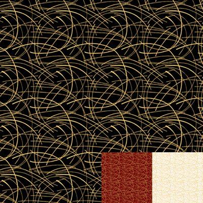 Golden Spray Gold Quilt Fabric