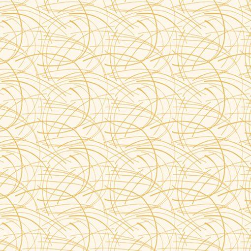 Golden Spray Quilt Fabric