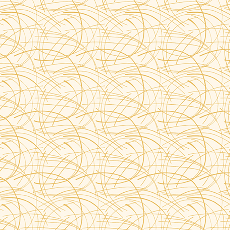 Golden Spray Quilt Fabric