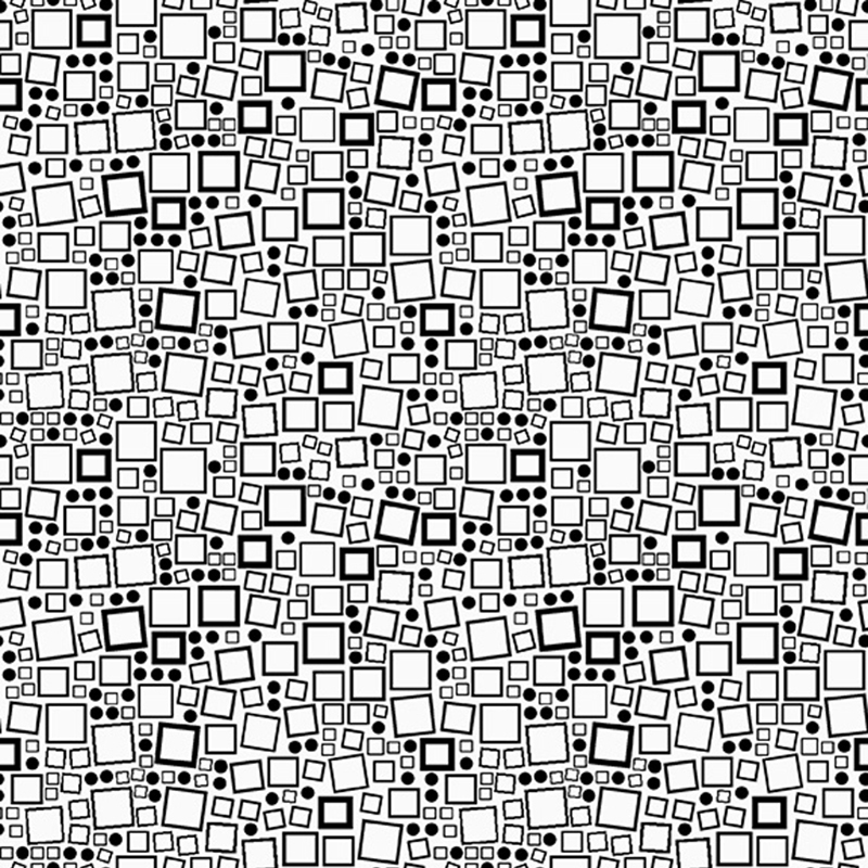 Squares and Dots Quilt Fabric