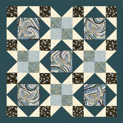 Afternoon delight Quilt Patterns and Quilt Kits