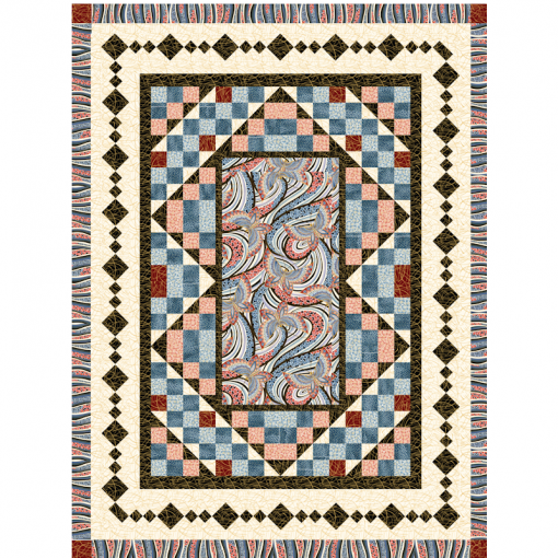 Center Stage Quilt Patterns and Quilt Kits