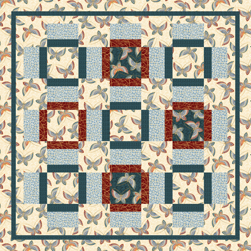 Love that Print Quilt Patterns and Quilt Kits