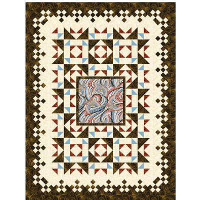 Rock around the Block Quilt Patterns and Quilt Kits