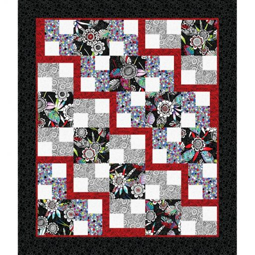 Steppin' Out Quilt Patterns and Quilt Kits