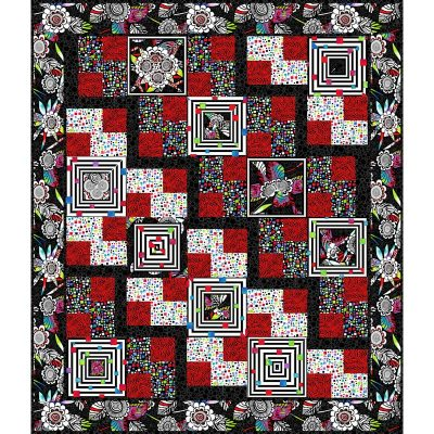 Steppin Out Quilt Patterns and Quilt Kits