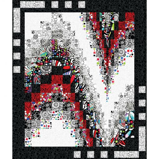 Free-Fall-wall quilt patterns and quilt kits
