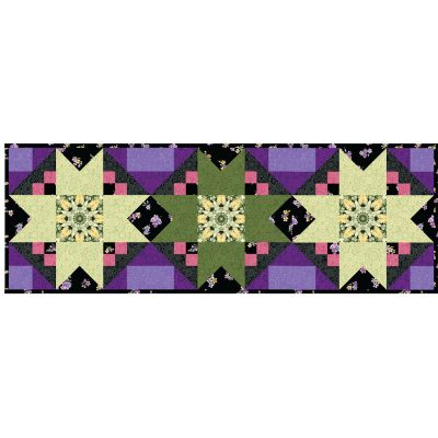 Floral Fantasy Table Runner Kit