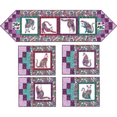 Cat I Tude Quilt Patterns Grizzly Gulch Gallery Quilt
