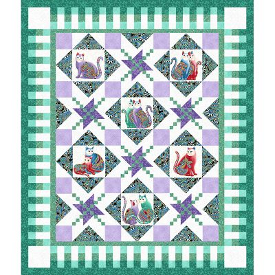 Cat I Tude 2 Quilt Patterns Grizzly Gulch Gallery