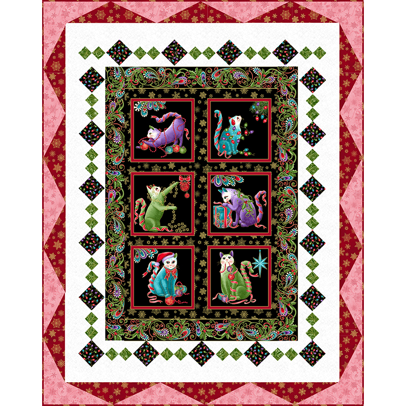 Butterfly Forest Quilt Fabric Collection at Grizzly Gulch Gallery In Helena MT
