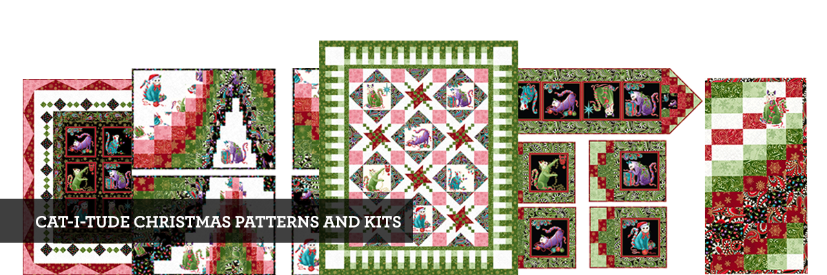 CAT-I-TUDE CHRISTMAS PATTERNS & Kits