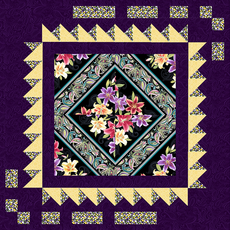 Lilyanne (Optional Free Download) | Grizzly Gulch Gallery | Quilt