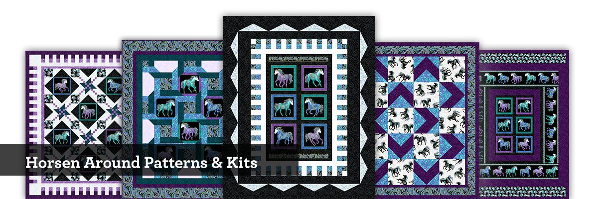 Horsen Around Patterns & Kits