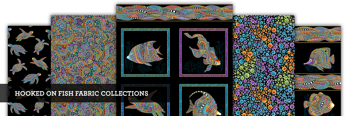 Hooked On Fish Fabric Collections